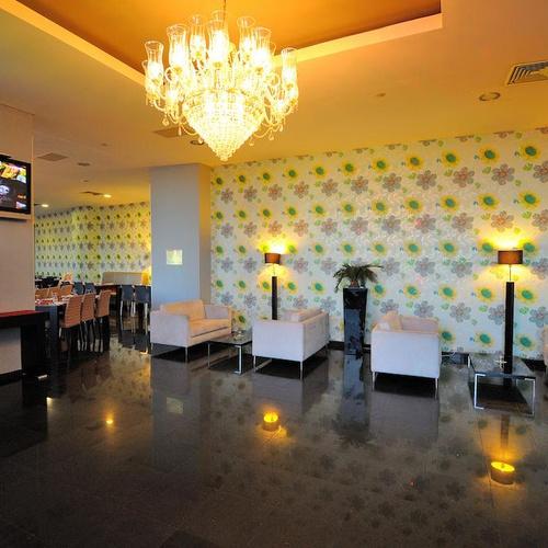 Lobby Oceano Atlântico Apartments